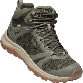 Keen Terradora II Mid WP Chaussures Femme, dusty olive/nostalgia rose